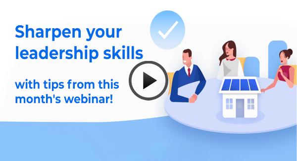 Sharpen your leadership skills